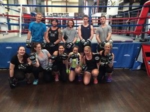 QLD-Fortitude Boxing 27.09.2015 group photo